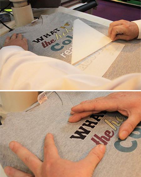transferpapir lyse tekstiler T One
