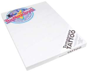 Tatoo transferpapir fra http://www.themagictouch.no