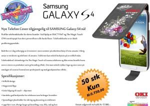 Samsun Galaxy S4 transfertrykk