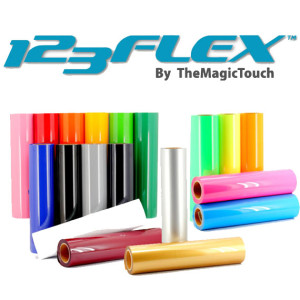 123 Flex Folie Tekstilfolie tekstiltrykk