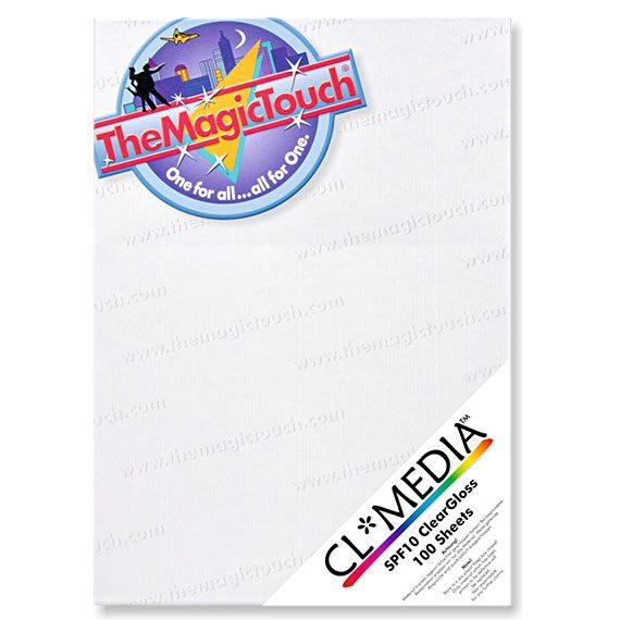 Transferpapir klistremerke ark i A4 størrelse CL-Media