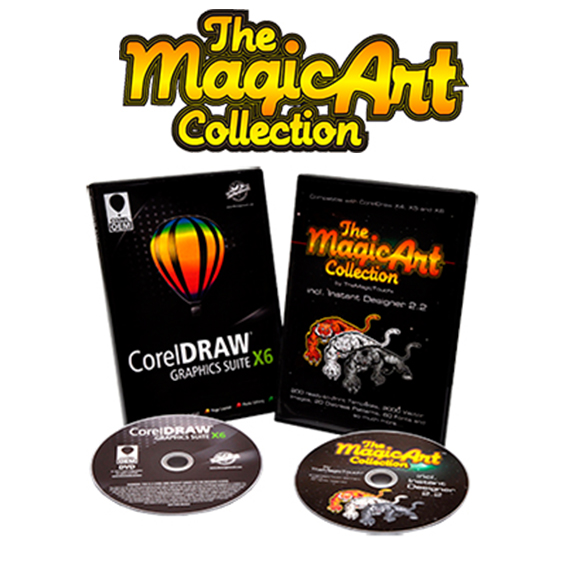 themagicart collection The Magic Touch AS