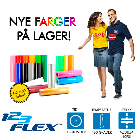 The Magic Touch 123 Flex Tekstil folie