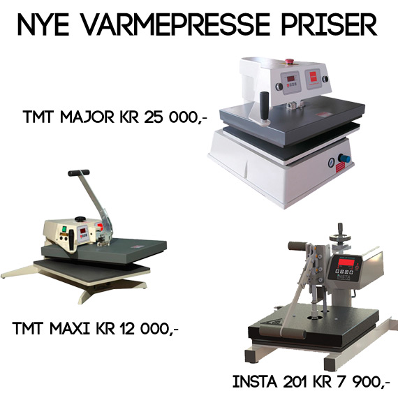 Billig Varmepresse The Magic Touch AS