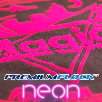 Neon Premium Flock Tekstilfolie