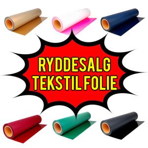 Ryddesalg-tekstilfolie