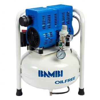 Bambi Oljefri lydsvak varmepresse kompressor