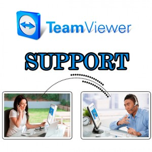 Fjernhjelp med Team-Viewer-Support