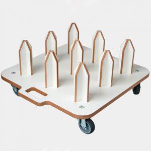 Base-Roller-9 folie holder