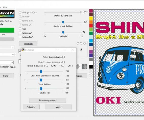Oki Pro 6410 NEON