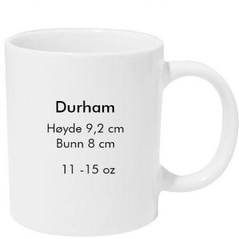 Durham sublimering kopp