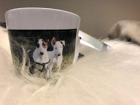 Latte kopp sublimering