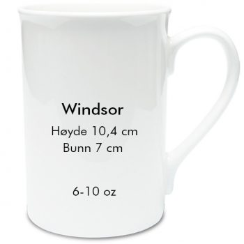 Windsor sublimering kopp