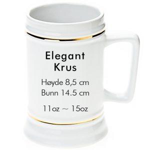 elegant sublimering øl krus