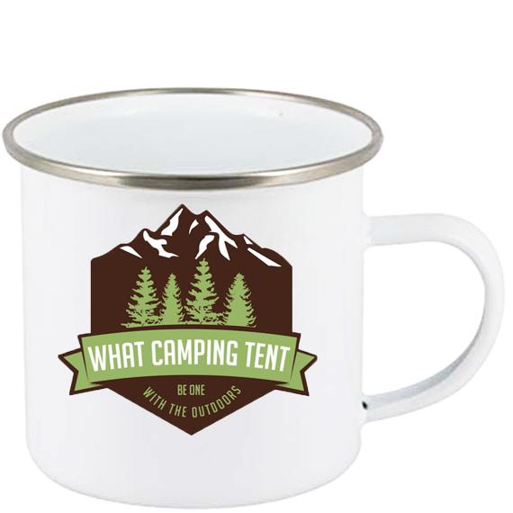 sublimering emaljekopp camping