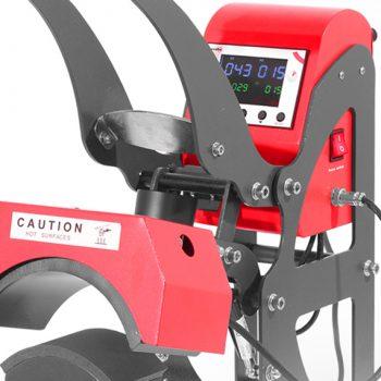 Varmepresse-TMT-rød-Premium-Cap-presse