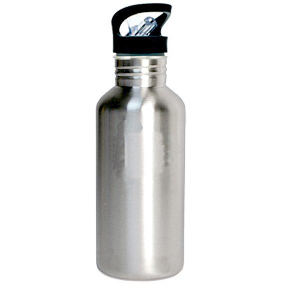 sublimering vannflaske aluminium sølv