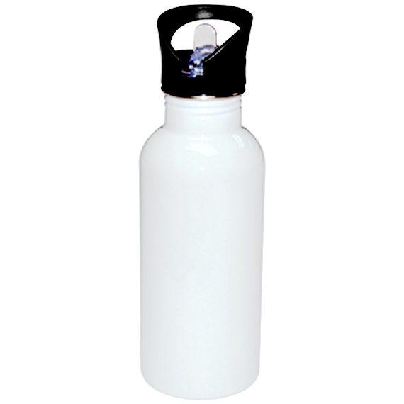 sublimering vannflaske hvit