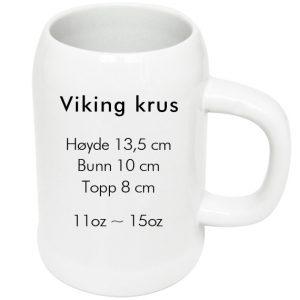sublimering kopp viking ølkrus