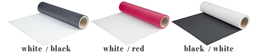 duoflex svart hvit rød