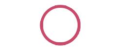 duoflex hvit rød punkt