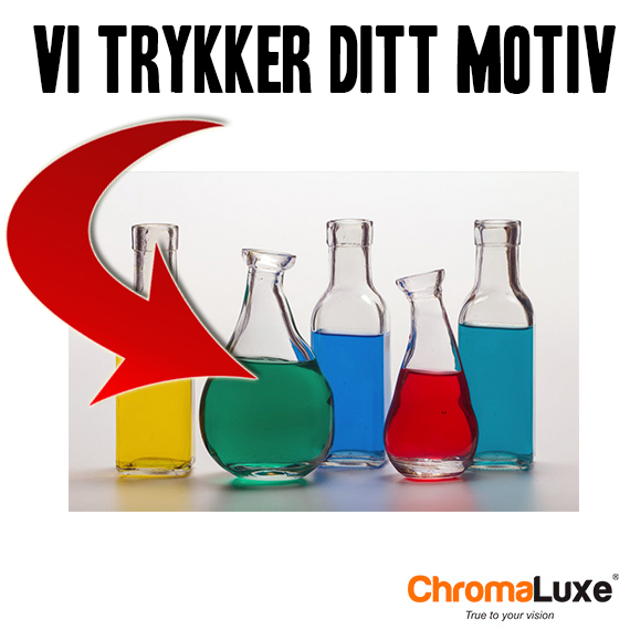 Foto på plate Chromaluxe