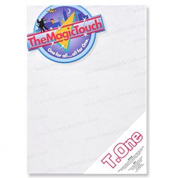Transferpapir til lyse tekstiler T. One
