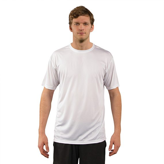 UV Solar T-skjorte hvit Sublim Herre