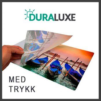 Duraluxe UV plater med Trykk