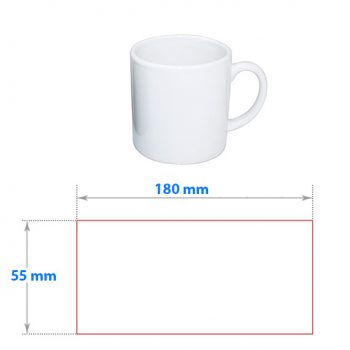 Trykke på kopp Barnekopp mal