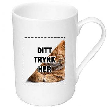 Stilren kopp med trykk