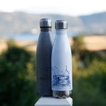 Hydroflaske sublimering